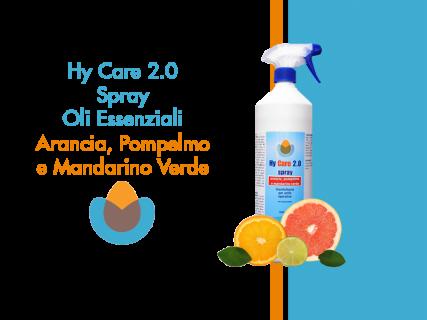 HY CARE 2.0 ARANCIA POMPELMO E MANDARINO